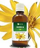 ARNICA OIL 100% NATURAL PURE UNDILUTED UNCUT ESSENTIAL OIL 15ML by SALVIA
