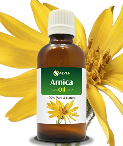 Arnica (Arnica Montana) Therapeutic Essential Oil by Salvia Amber Bottle 100% Natural Uncut Undiluted Pure Cold Pressed Aromatherapy Premium Oil - 15ML/ 0.5 fl oz