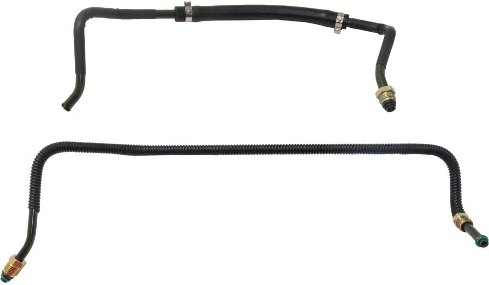 Power Steering Hose compatible with Subaru Impreza 02-03 Pressure Hose And Return Hose Assembly