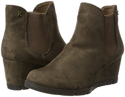 063701 Xti Boots Marron Chelsea Taupe taupe Femme adqZp7Td