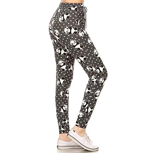 4c015cdf84 Leggings Depot Premium Jogger Women's Popular Print and Solid High Waist  Track Yoga Full Length Pants(S-XL)