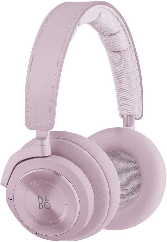 Bang & Olufsen Beoplay H9 3RD Gen Wireless Bluetooth Over-Ear Headphones - Active Noise Cancellation, Transparency Mode, Voice Assistant and Mic, Peony