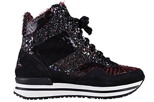 Schwarz 2Star Rosa 41 Schuhe Leder Damen Gold Sneaker BzfFqx