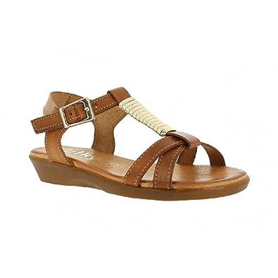 Chaussures Femme 1051 Thiltradingã'â® Xusandalia Marron Sandales nOX80wkP