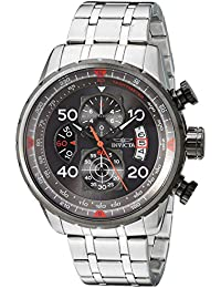 Men's 17204 AVIATOR Stainless Steel Casual Watch