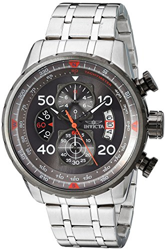 Invicta Men's 17204 AVIATOR Stainless Steel Casual - Aviator Deals