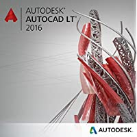 Autodesk AutoCAD LT 2016 Commercial New SLM ELD Annual Desktop Subscription with Basic Support [Electronic Download]