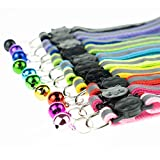 Cat Collars with Bell, Breakaway Cat Collar with
