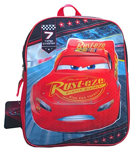 Disney Toddler Preschool Backpack 10 inch Mini Backpack (Disney Cars 3 Movie)