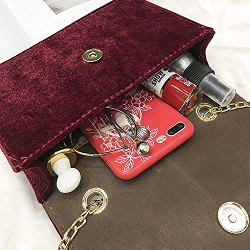 para Bolso Rojo Mujer Hombro Miss an al Rojo IHx5B