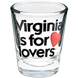 Virginia Is For Lovers Officially Licensed Souvenir Shot Glass