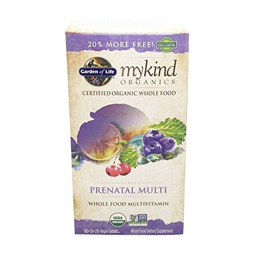 GARDEN OF LIFE Organic Mykind S Prenatal Multi, 216 CT