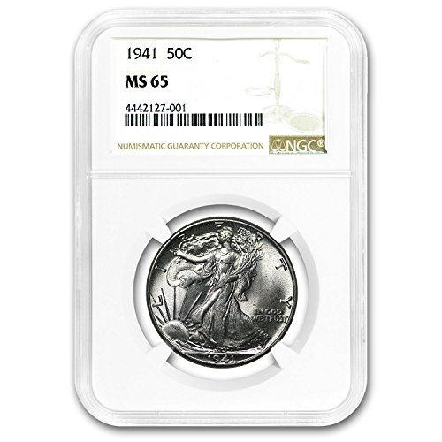 1941 Walking Liberty Half Dollar MS-65 NGC Half Dollar MS-65 NGC