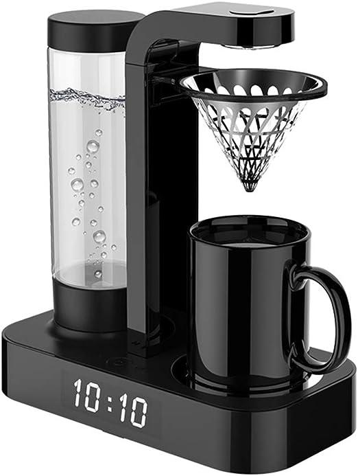 LIUJIE Cafetera Totalmente automática, con Reloj y Taza Termo ...