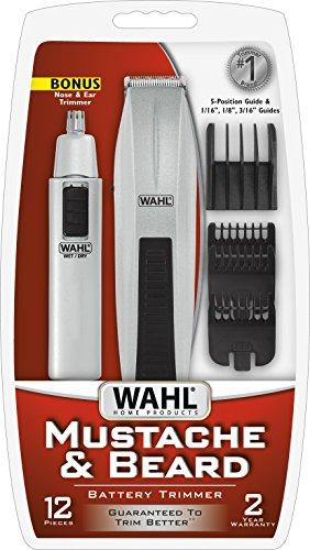 conair beard and mustache trimmer instructions