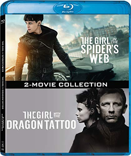 The Girl with the Dragon Tattoo + The Girl in the Spider's Web: 2-Movie Collection [Blu-ray]