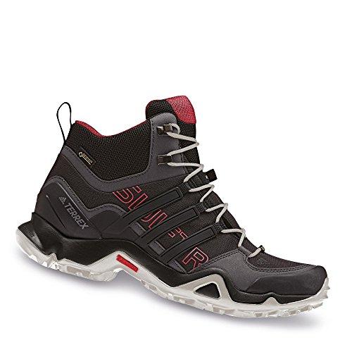 adidas Terrex Swift R Mid Gtx W, Botas de Montaña para Mujer, Negro (Nero Negbas/Negbas/Rostac), 40 EU