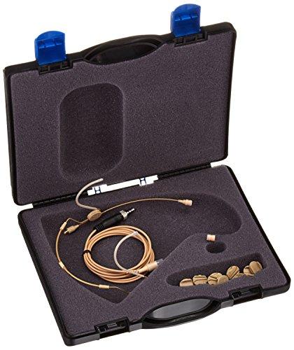 (Sennheiser HSP 2-EW-3 omni-directional beige headworn microphone)