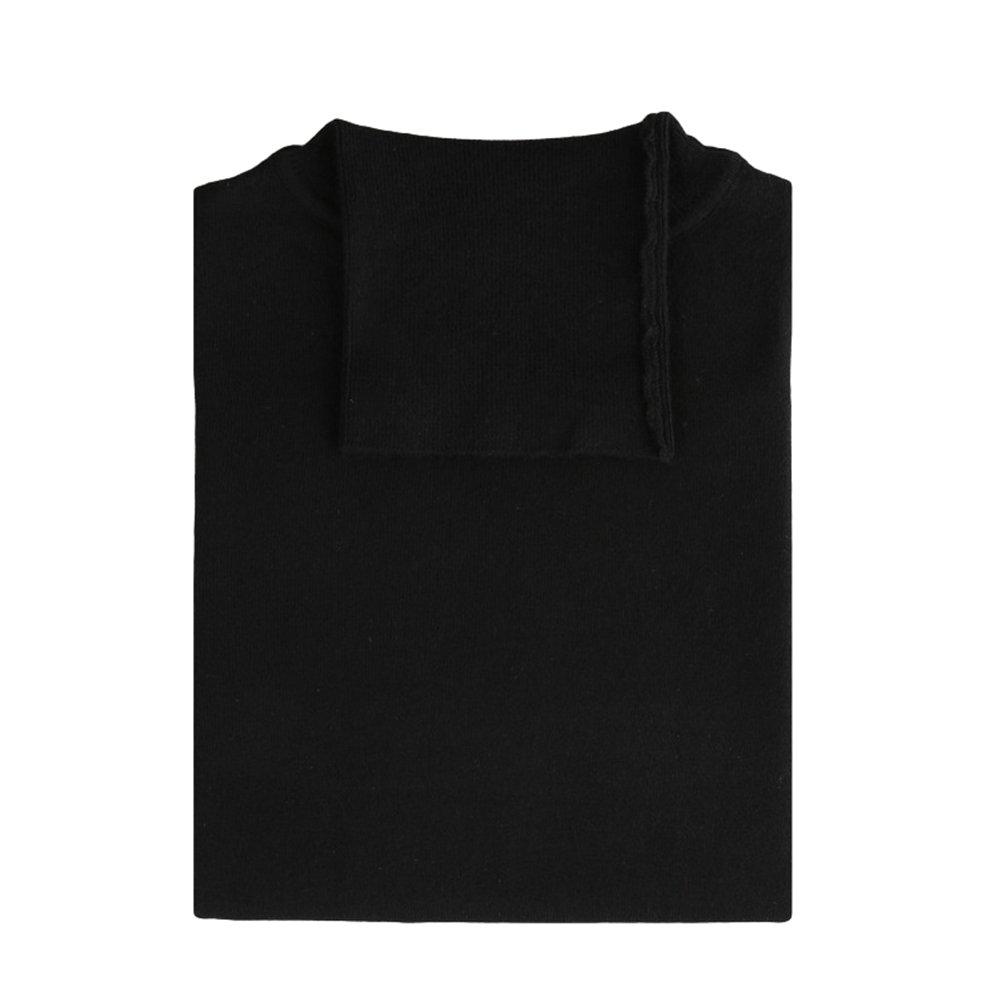 Dooxi Hombre Invierno Casual Manga Larga Suéter Moda Sólido Color Cuello  Alto Juventud Knit Jerséis Negro 2XL  Amazon.es  Ropa y accesorios e36778f19a1c