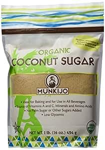 Munkijo Organic Coconut Sugar - 1 Lb.