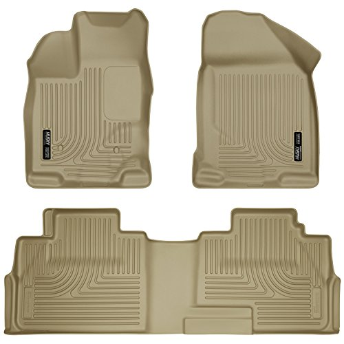 Husky Liners Front & 2nd Seat Floor Liners Fits 07-14 Edge,