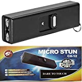 Cheetah Black Micro USB 3.5 Million Volt Self Defense Rechargeable Stun Gun Flashlight Combo with Key Chain Review