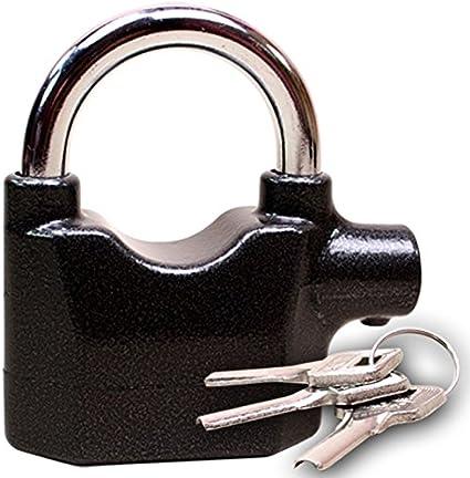Motorbike Bike Alarm Lock Motion Sensor Security Siren Padlock Anti Theft