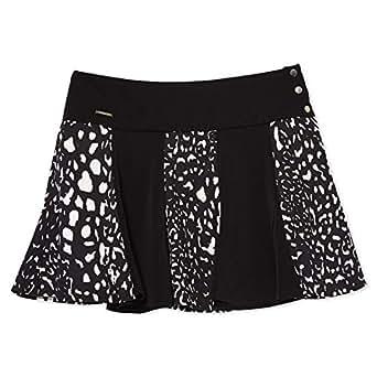 Roberta Biagi Pleated Skirt for Women - Black & White