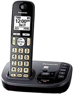 Panasonic KX-TGD220M Cordless Phone with Answering Machine- 1 Handset (Certified Refurbished)