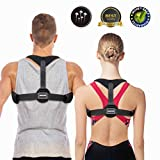 SGODDE Posture Corrector Back Brace - Adjustable Posture Support Correctors for Men and Women - Straightener Supports Shoulder for Clavicle Support and Providing Pain Relief