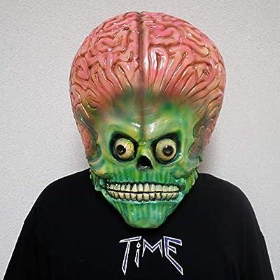 FUGUI - Máscara de la película Mars Attacks!, de marciano, para ...