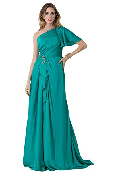 Sunvary One para el hombro una manga corta madre de tafetán de vestidos de novia Prom