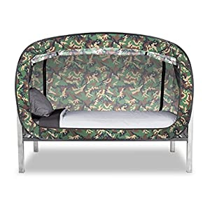 Amazon Com Privacy Pop Bed Tent Twin Camo Toys Amp Games