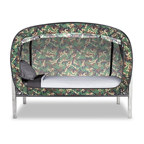 Privacy Pop Bed Tent (Twin) - CAMO