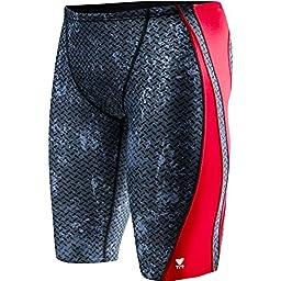 TYR Men\'s Viper Jammer Swimsuit Red 36 SVIP7A