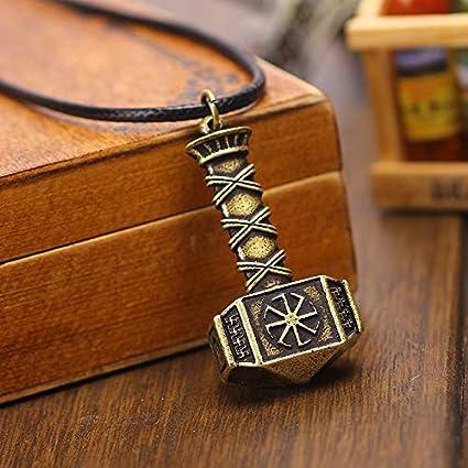 Amazon com: 1pc Slavic Amulet kolovrat Svarog Hammer Pendant Nordic