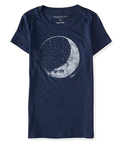 aeropostale-womens-crescent-moon-graphic-t-shirt-m-midnight-navy