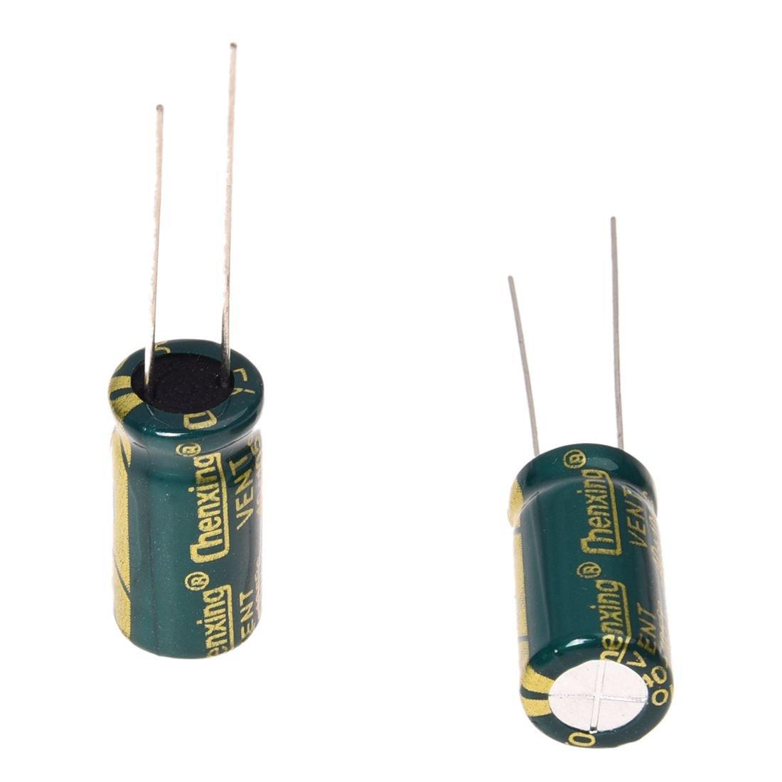 10pz 10V 3300uF madre condensatore elettrolitico radiale SODIAL Capacitor Radial R