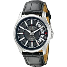 Lucien Piccard Men's LP-40025-01 Del Campo Analog Display Japanese Quartz Black Watch
