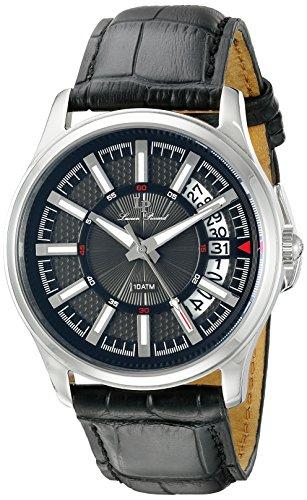 Lucien Piccard Men's LP-40025-01 Del Campo Analog Display Japanese Quartz Black Watch