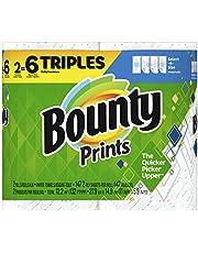 Select-A-Size Paper Towels, Print, 2 Triple Rolls = 6 Regular Rolls, 2 Count