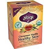 Yogi Cinnamon Vanilla Healthy Skin Tea, 16 Tea Bags  (Pack of 24)