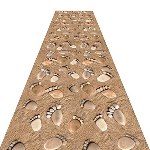 QiangDa Hallway Runner Carpet Foot Shape Long Entry for sale  Delivered anywhere in Canada
