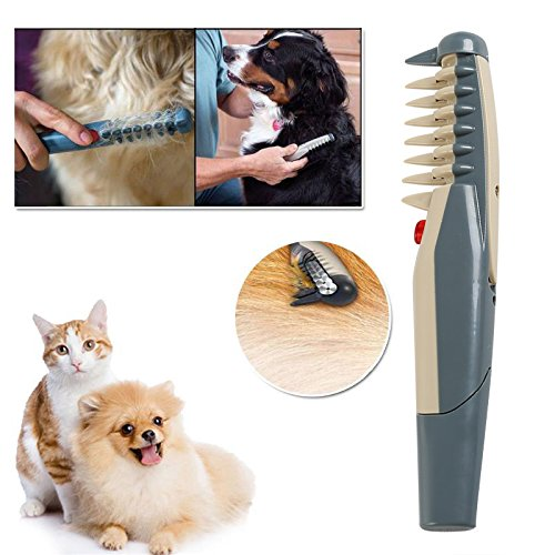 BigFamily Electric Hair Trimmer Knot Brushes Supplies Pet Dog Cat Grooming Comb Out Tangles Tool