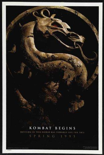 Poster Revolution (27x40) Mortal Kombat Movie Linden Ashby Original Poster Print (Mortal Kombat Movie Poster)