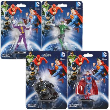 Monogram DC Comics Cake Topper Figurines (Assorted, Characters Vary)