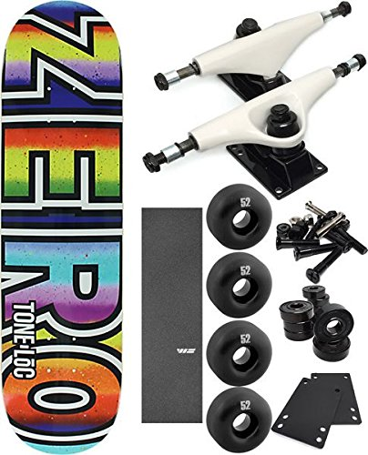 【予約販売品】 ゼロスケートボードTone Loc Mexi Blanket太字スケートボード8