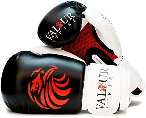 9194ffe37 Valour Strike Boxing Gloves Sparring ☆ Pro 10oz 12oz 14oz 16oz Punch Bag  Fight MMA Muay