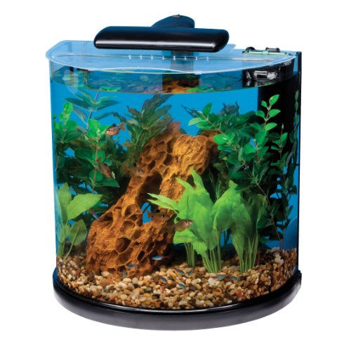 Tetra 29234 Half Moon Aquarium Kit,