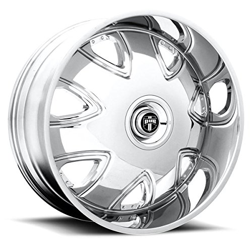 Dub Bandito 26 Chrome Wheel / Rim 6x135 & 6x5.5 with a 30mm Offset and a 87.1 Hub (26inch Car Rims)